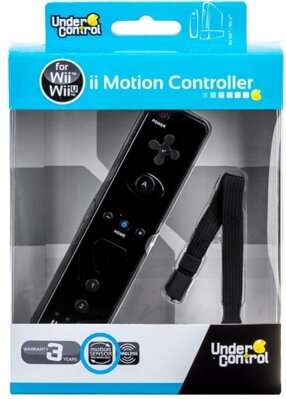 Wii Remote Controller + Motion čierny