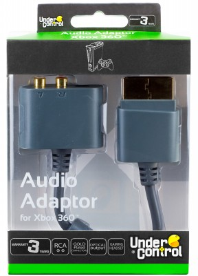 XBOX 360 Audio adaptor